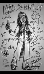 Mad Scientist by WingedEnigma
