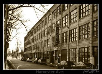 Harvester Ave. by WingedEnigma