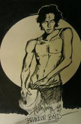 Brandon Boyd, Incubus by WingedEnigma