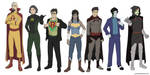 Legend of Korra Superheroes by jcords