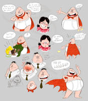 Captain Underpants Doods 2 by EarthGwee