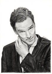 Benedict Cumberbatch by MeikeZane