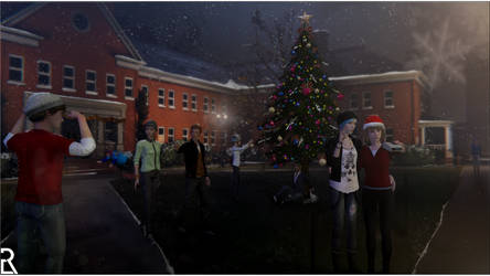 LiS - Merry Christmas by Ezekh