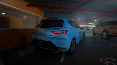SEAT Leon Cupra - Stop Looking at my ass. by Ezekh