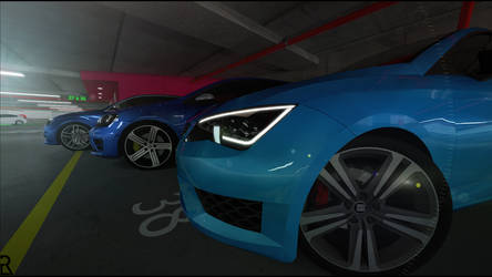SEAT Leon Cupra - Family Picture. by Ezekh