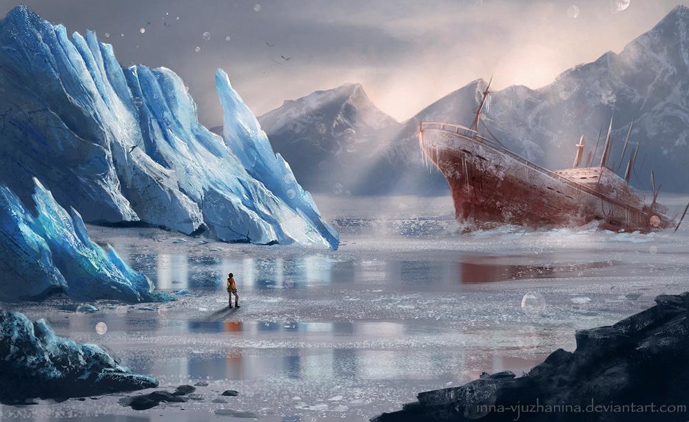 Tomb Raider sketch 03 by Inna-Vjuzhanina