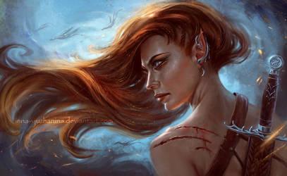 Demon Hunter by Inna-Vjuzhanina