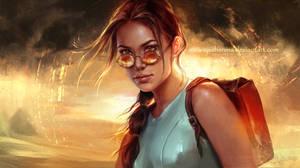 Lara Croft: Tomb Raider by Inna-Vjuzhanina