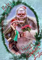 Merry Croftmas and happy Yeti Day! by Inna-Vjuzhanina