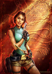 Tomb Raider: the Dagger of Xian by Inna-Vjuzhanina