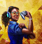 Women in Gaming: 100 Pioneers of Play by Inna-Vjuzhanina