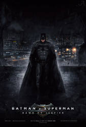 Batman v Superman: Dawn of Justice (Poster #4) by visuasys