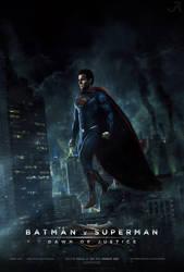 Batman v Superman: Dawn of Justice (Poster #5) by visuasys
