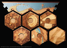 Setters of Catan - Custom Board by ScoobasteveNZ