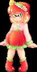 Strawberry Inkling by Ghiraham-Sandwich
