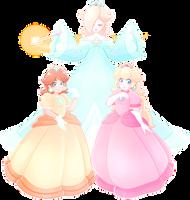 Daisy - Rosalina - Peach by Ghiraham-Sandwich