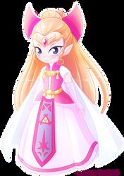 Princess Zelda [Four Swords] by Ghiraham-Sandwich