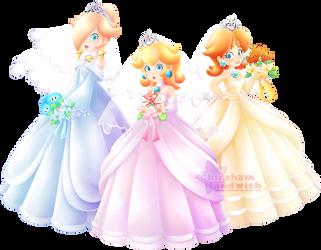 1-Up Girls [Super Mario Odyssey] by Ghiraham-Sandwich