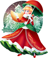 Winter Peach by Ghiraham-Sandwich