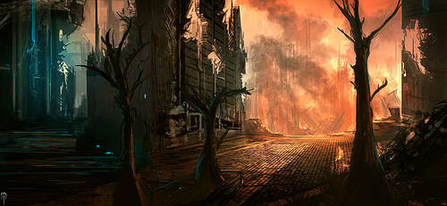 ruins and stuff by aiRaGe