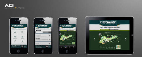 ACI conference mobile App design concepts by dreamisland