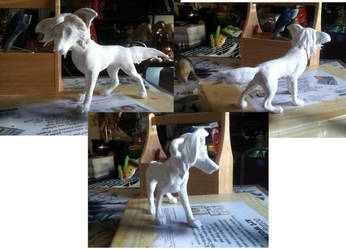 Clay dog project by zimaro