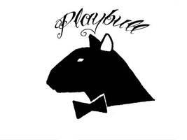Bull terrier tattoo design by Paskaniska