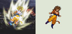 Super Saiyan 5 (FanDragonBall Concept) by Yoh92