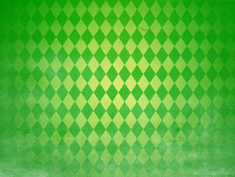 St Patrick's Day Green Diamond Pattern by XDarkAngelKayeX