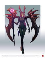 RaymonGriego Sorceress 01 by RaymondGriego