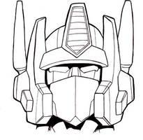 G1 Optimus Prime Head by studiogdp