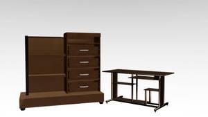 .: DL Mini Pack Furniture :. by NightLightStar01