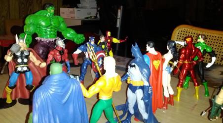 Avengers Vs Justice League POV by JMoney667
