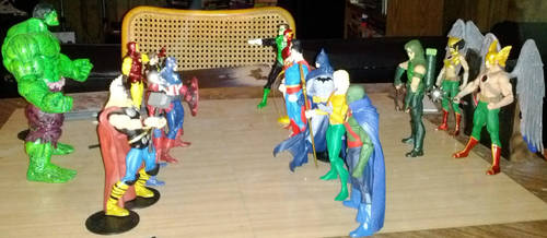 Avengers Vs Justice League! by JMoney667