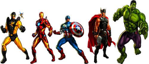 Avengers Assemble! by JMoney667