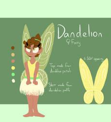 Dandelion Reference Sheet by JovialFire