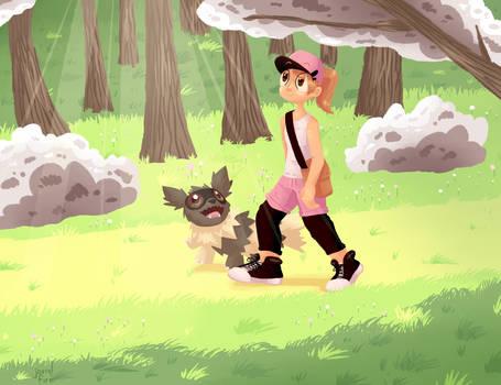 Hunting Stroll by JovialFire