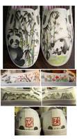 Panda-monium Shoes by someorangegirl