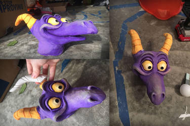 Figment Sculpt WIP by CatsMenagerie