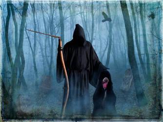 Grim Reaper's Sidekick by allison712