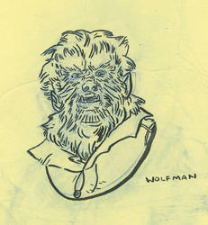 The Wolf Man by valnunez
