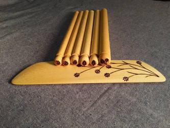 Backstrap Loom 2 by walkinghawkwoodworks