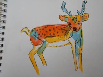 Little Deer by katvogel