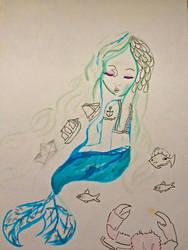 Mermaid by katvogel