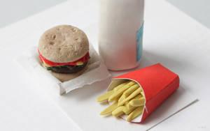 Miniatures 03: Fast food by ErickaUbasa