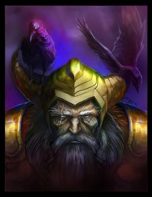 Odin All Father by XIXO7