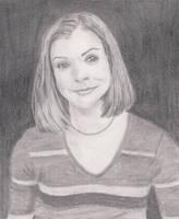 Alyson Hannigan sketch by craftymama2