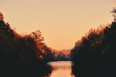 Autumn River by Sunira