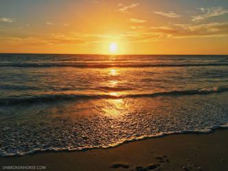 Sanibel Sunset by Sunira
