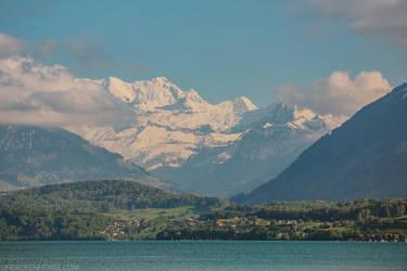 Lake Thun, Switzerland by Sunira
